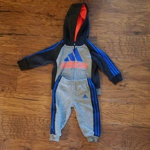 Boys 12 M Adidas sweatsuit